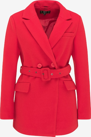 faina Between-seasons coat in bright red, Item view