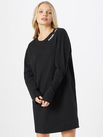 DIESEL Nachthemd in Black