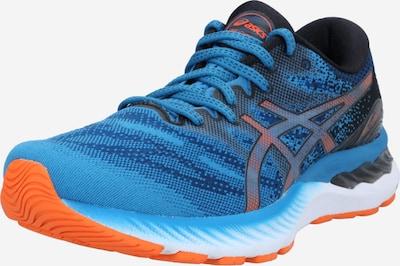 ASICS Laufschuh 'Gel-Nimbus 23' in blau / nachtblau / hellblau / orange, Produktansicht
