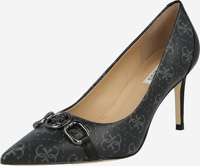 GUESS Официални дамски обувки 'ALEDA' в камък / черно, Преглед на продукта