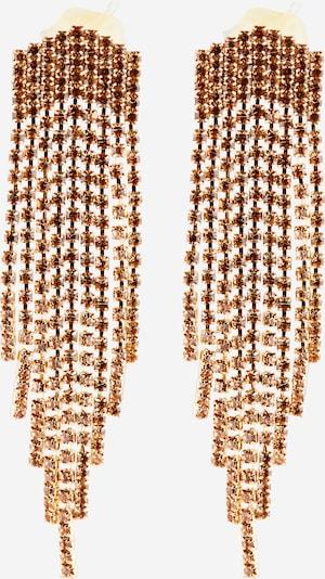PIECES Boucles d'oreilles 'Rasha' en or, Vue avec produit