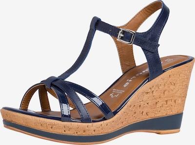 TAMARIS Páskové sandály - modrá, Produkt