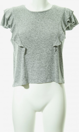 UNBEKANNT T-Shirt in L in grau / hellgrau: Frontalansicht