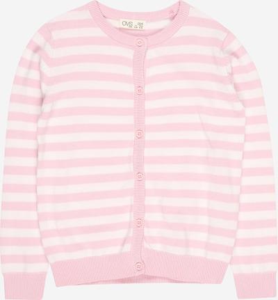 OVS Strickjacke in rosa / weiß, Produktansicht