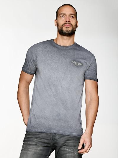 TOP GUN T-Shirt in grau: Frontalansicht
