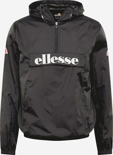 ELLESSE Športna jakna 'Acera' | rdeča / črna / bela barva, Prikaz izdelka
