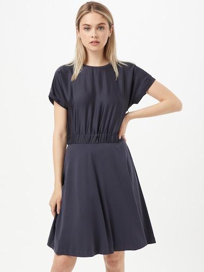 HUGO Kleid 'Namastia' in dunkelblau, Modelansicht