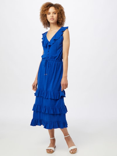 Lauren Ralph Lauren Jurk 'DONTAE' in de kleur Royal blue/koningsblauw, Modelweergave