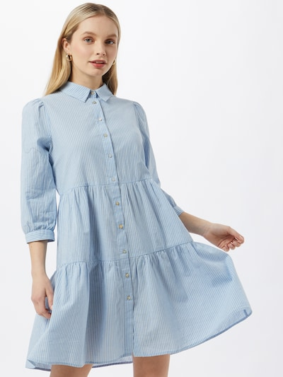 ONLY Shirt dress 'Amaryllis' in Blue / White, View model