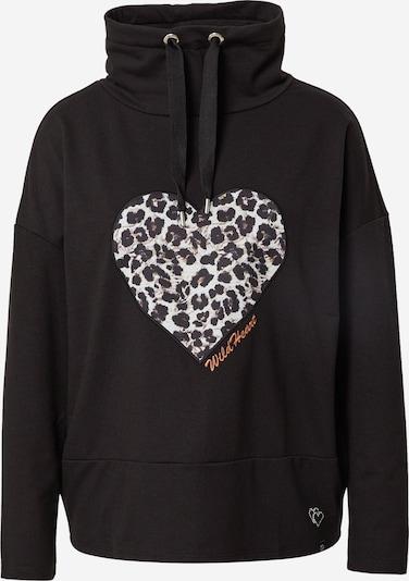 Key Largo Sweatshirt in braun / schwarz / weiß, Produktansicht