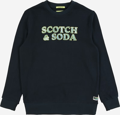 Scotch Shrunk Bluza w kolorze ciemny niebieski / zielonym, Podgląd produktu
