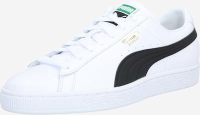 PUMA Baskets basses 'Basket Classic' en noir / blanc, Vue avec produit