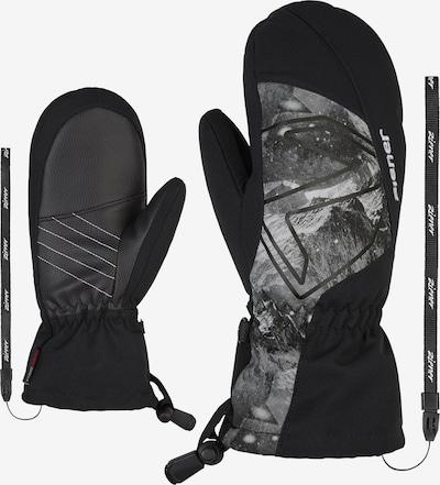 ZIENER Skihandschuhe 'LARILO AS(R)' in grau / schwarz, Produktansicht