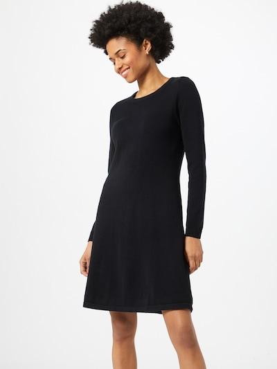 Rochie tricotat EDC BY ESPRIT pe negru, Vizualizare model