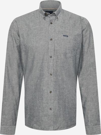 Lindbergh Hemd in graumeliert / schwarz, Produktansicht