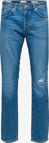 SELECTED HOMME Jeans 'Leon' in Blau