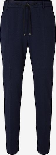 JOOP! Pantalon à plis 'Bax' en bleu marine, Vue avec produit