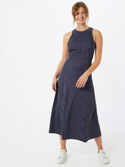 IVY & OAK Kleid 'Pinstripes' in blau / weiß, Modelansicht