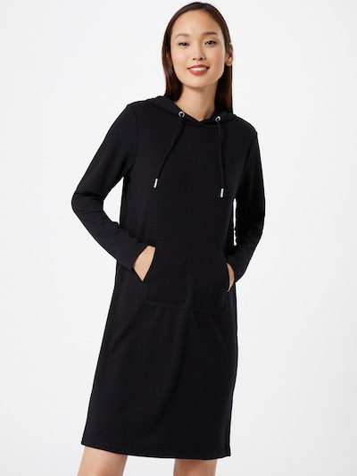 b.young Oversized dress in Black, View model