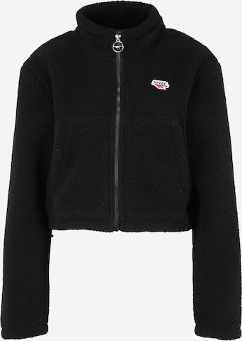 HI-TEC Sportsweatjakke 'FLEUR' i svart