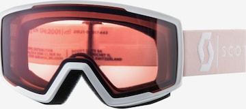 SCOTT Sportbrille 'Factor pro' in Weiß