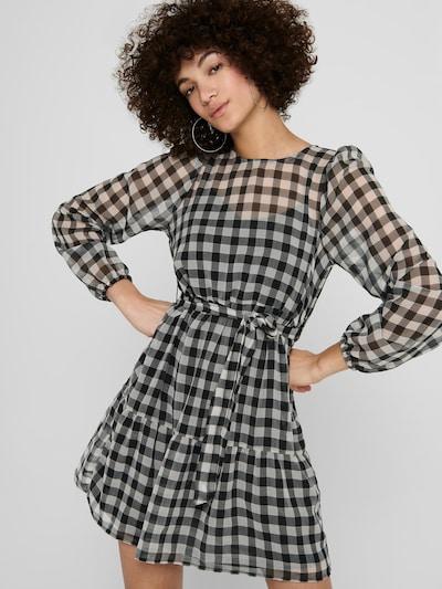 ONLY Kleid 'Gertrude' in grau / schwarz, Modelansicht