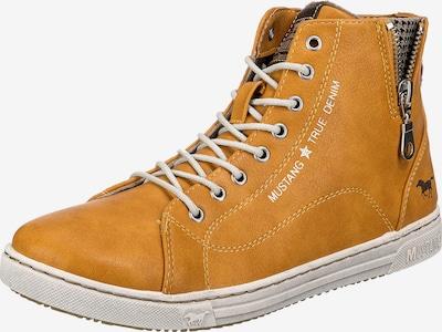 MUSTANG Sneaker in beige / gelb / schwarz / weiß, Produktansicht