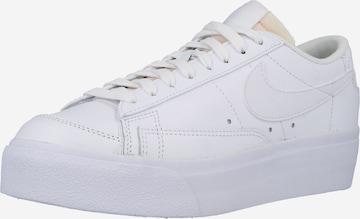 balts Nike Sportswear Zemie brīvā laika apavi