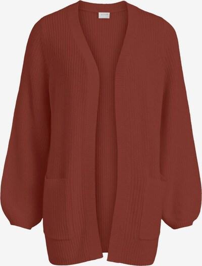 VILA Cardigan in rostrot, Produktansicht