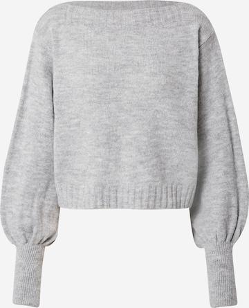 VILA Pullover 'Rik' in Grau