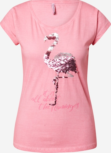 Stitch and Soul Shirt in pink, Produktansicht