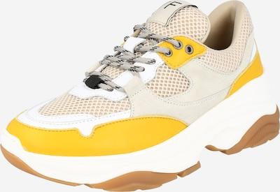 SELECTED FEMME Zemie brīvā laika apavi 'Gavina' bēšs / brūns / dzeltens / balts, Preces skats
