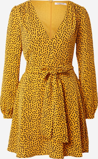 GLAMOROUS Kleid in senf / schwarz, Produktansicht