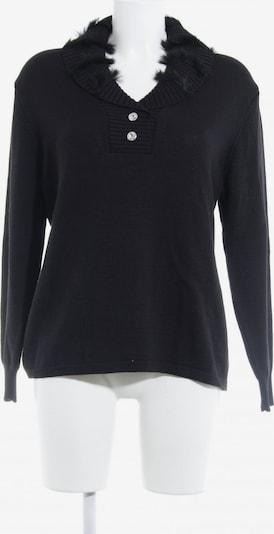 Menke Rundhalspullover in L in schwarz, Produktansicht