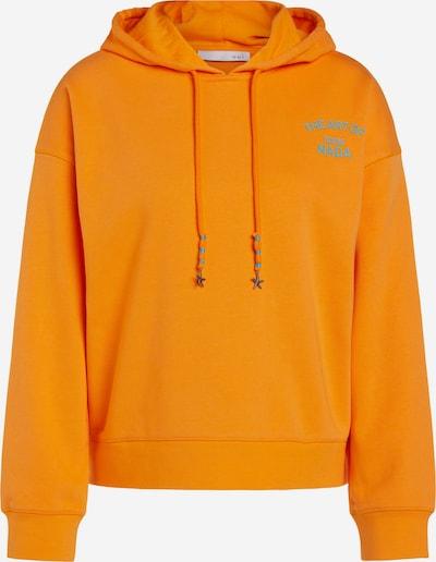 OUI Sweatshirt in grün / orange, Produktansicht