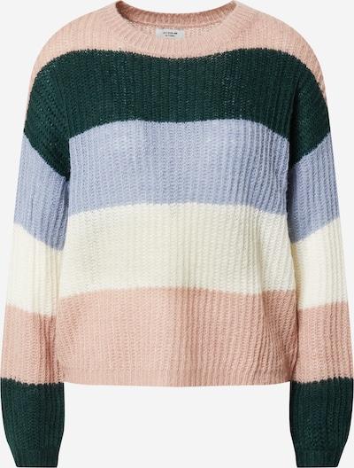 JACQUELINE de YONG Pullover 'Stripe' in mischfarben / altrosa, Produktansicht
