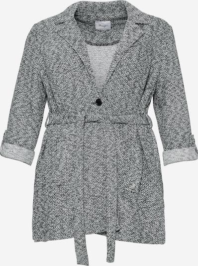 SHEEGO Kardigan w kolorze czarny / białym, Podgląd produktu