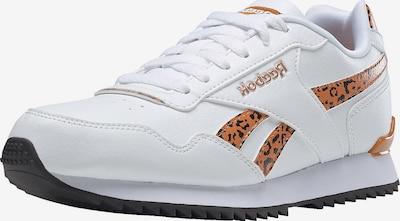 Reebok Classics Sneakers 'ROYAL GLIDE RIPPLE CLIP' in Orange / Black / White, Item view
