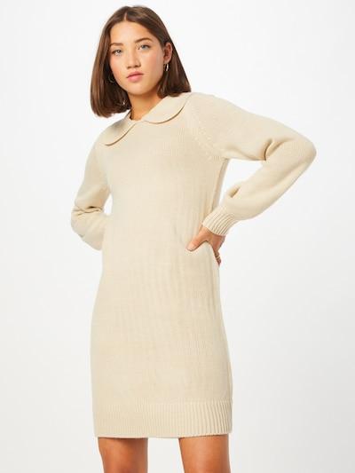 ONLY Плетена рокля 'LEXA' в бежово / кремаво, Преглед на модела