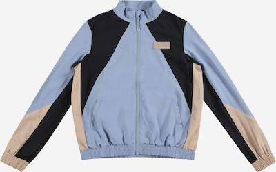 ONLY PLAY Veste de sport 'JEA' en beige / bleu fumé / noir, Vue avec produit