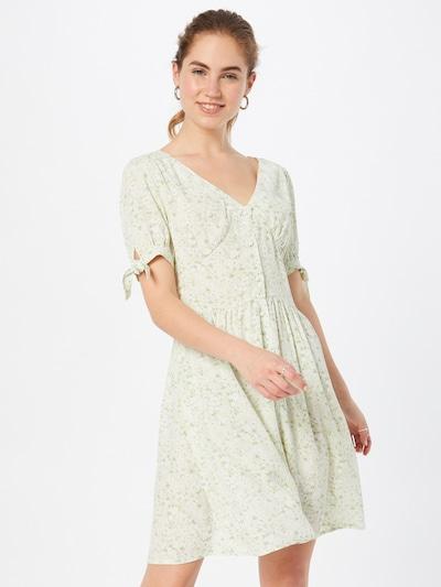 Pimkie Kleid 'TORI' in hellgrün / weiß, Modelansicht