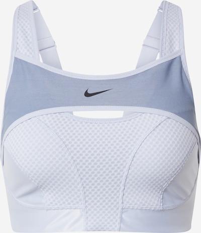 NIKE Sports bra 'Alpha' in Light grey / Dark grey, Item view