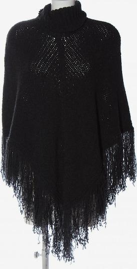 TRANSIT PAR-SUCH Poncho in XS-XL in schwarz, Produktansicht