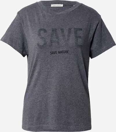 Marc O'Polo Shirt in graumeliert / schwarz, Produktansicht