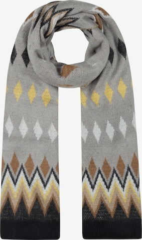 CODELLO Kuscheliger Oversized-Schal im Norweger-Style in Grau