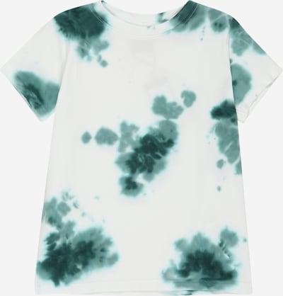 The New Тениска 'TAYLOR' в тъмнозелено / бяло, Преглед на продукта