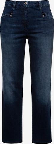 Ulla Popken Jeans 'Mony 727436' in Blauw
