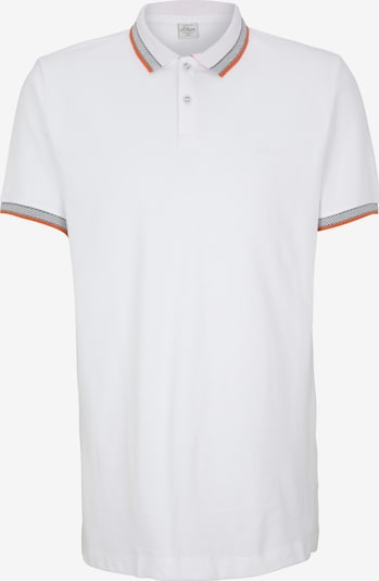 s.Oliver Men Tall Sizes Poloshirt in weiß, Produktansicht