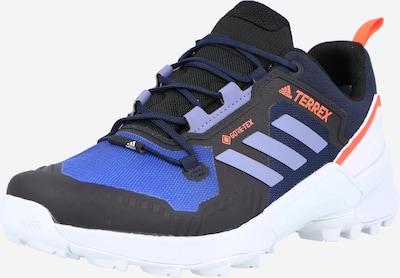 adidas Terrex Flats in Navy / Dark purple / Orange, Item view