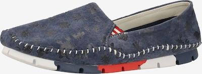 COSMOS COMFORT Slipper in taubenblau / schwarz, Produktansicht